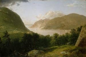 Вид реки Гудзон (Джон Фредерик Кенсетт)