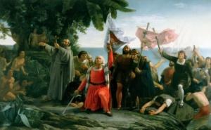 Диоскоро Теофило Пуэбла Толин – Первая высадка Христофора Колумба в Америке