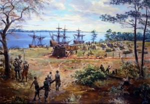 Форт Джеймстаун 1607