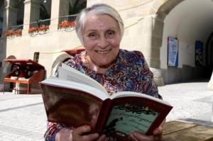 Анн Голон с новым изданием «Анжелики»