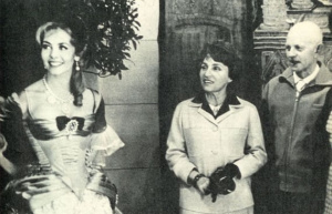 Анн и Серж Голон впервые на съемках фильма по мотивам романа «Анжелика»