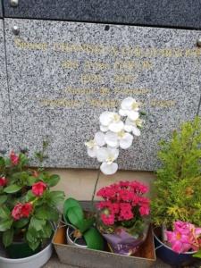 Мемориальная доска Анн Голон