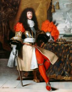 Портрет Людовика XIV. 1670г. (Клод Лефевр)