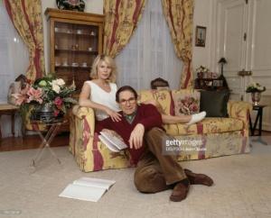 Робер Оссейн с женой Кэндис Пату