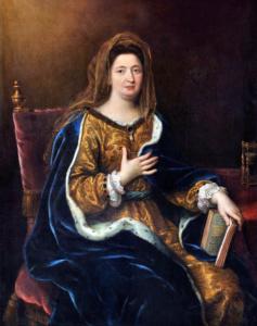 Маркиза де Ментенон. 1694г. (Пьер Миньяр)