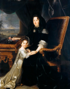 Франсуаза д'Обинье, маркиза Ментенон (Луи Элль)