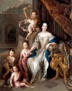 Маркиза де Монтеспан с детьми (Шарль де Лафосс)