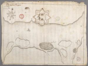 Форт Пентагует 1670г.