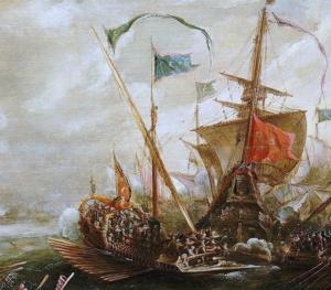 Галера берберийских пиратов (Андрис ван Эртфельт)