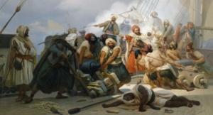 Берберские пираты, XVII век