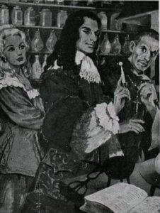 Анжелика и Жоффрей де Пейрак в лаборатории Отеля Веселой Науки